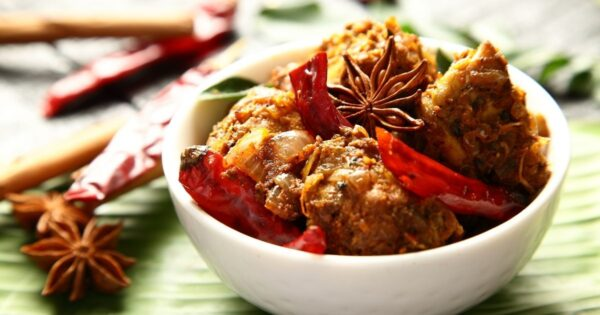 Kerala Pepper Chicken